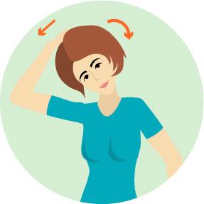 Inclinazione laterale del collo